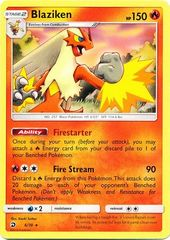 Blaziken - 6/70 - Non-Holo Theme Deck Exclusive