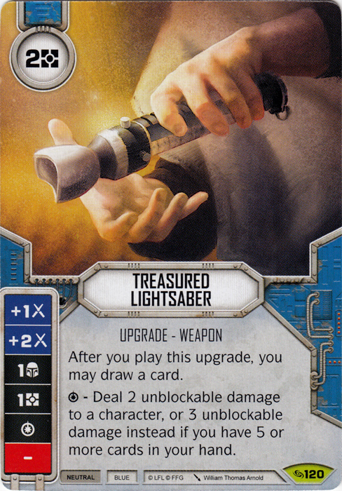 Treasured Lightsaber