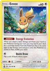 Eevee - 101a/149 - Reverse Holo - Alternate Art Promo on Channel Fireball