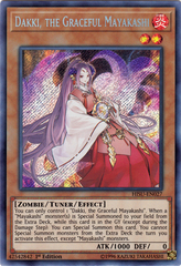 Dakki, the Graceful Mayakashi - HISU-EN027 - Secret Rare - 1st Edition