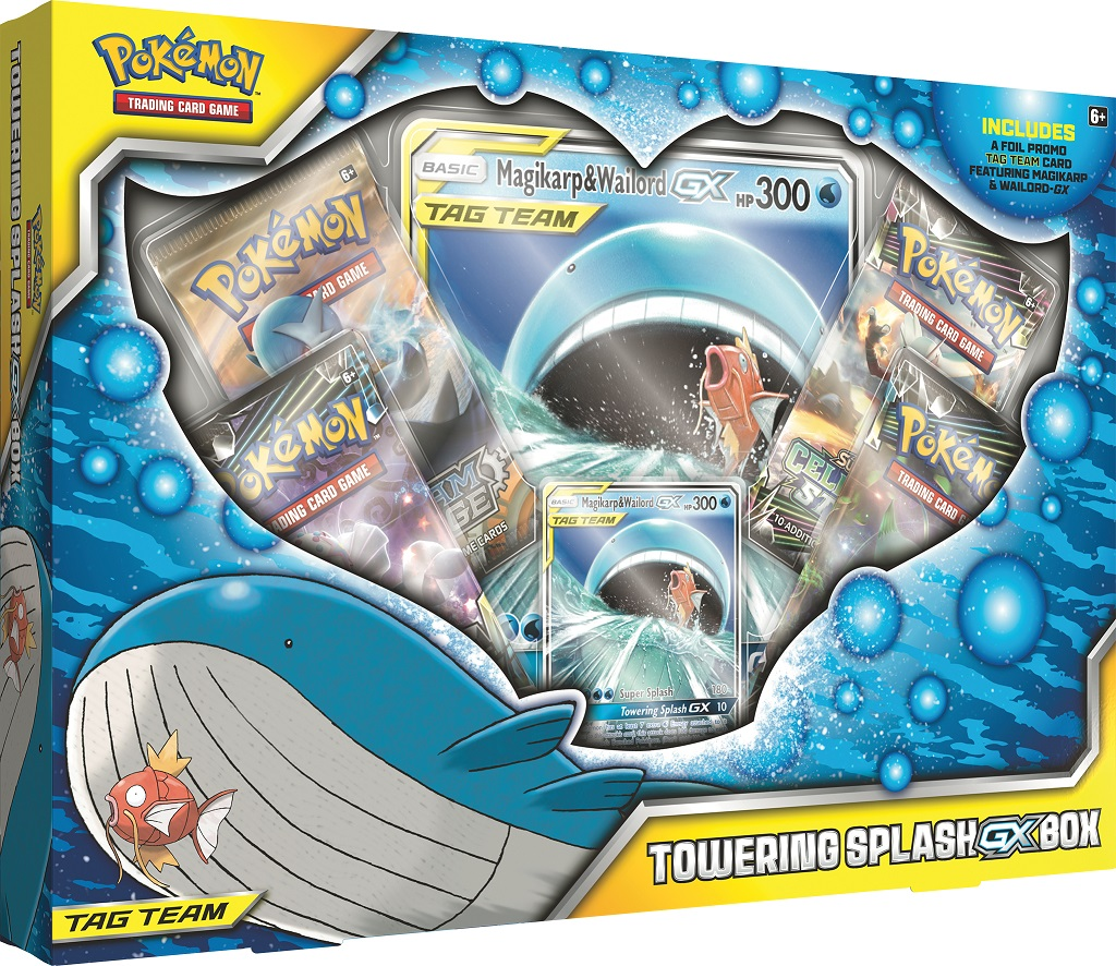 Towering Splash GX Box