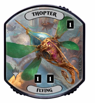 Ultra Pro - Relic Tokens: Lineage Collection - Thopter (Flying)