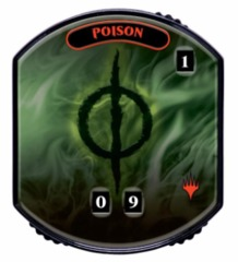 Ultra Pro - Relic Tokens: Lineage Collection - Poison