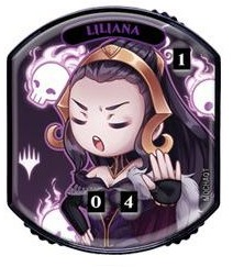 Ultra Pro - Relic Tokens: Lineage Collection - Chibi Liliana