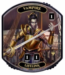 Ultra Pro - Relic Tokens: Lineage Collection - Vampire (Lifelink) - Foil