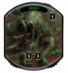 Ultra Pro - Relic Tokens: Lineage Collection - Ooze - Foil