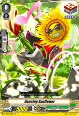 Dancing Sunflower - V-EB03/065 - C on Channel Fireball
