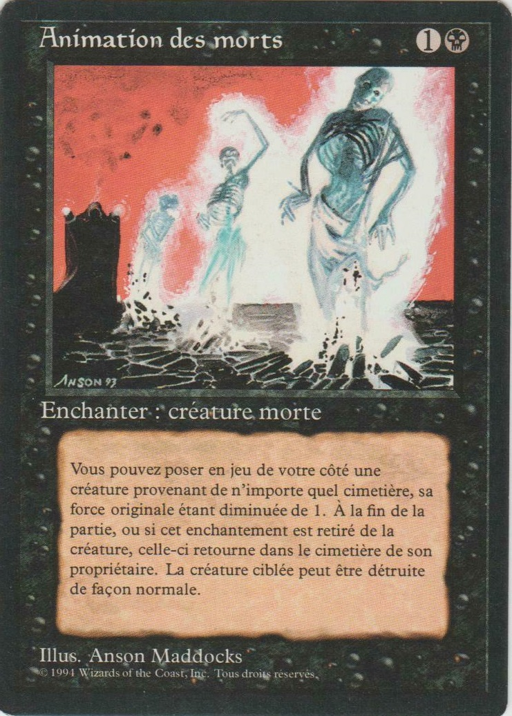 Animate Dead - French