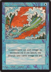 Blue Elemental Blast - French