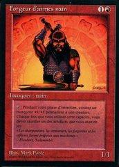 Dwarven Weaponsmith - French