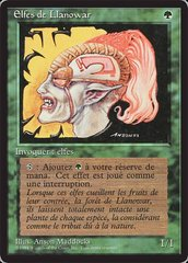 Llanowar Elves - French
