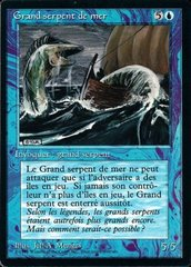 Sea Serpent - French