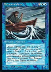 Water Elemental - French