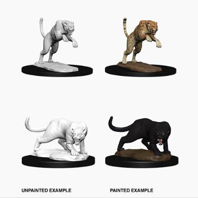Nolzurs Marvelous Miniatures - Panther & Leopard