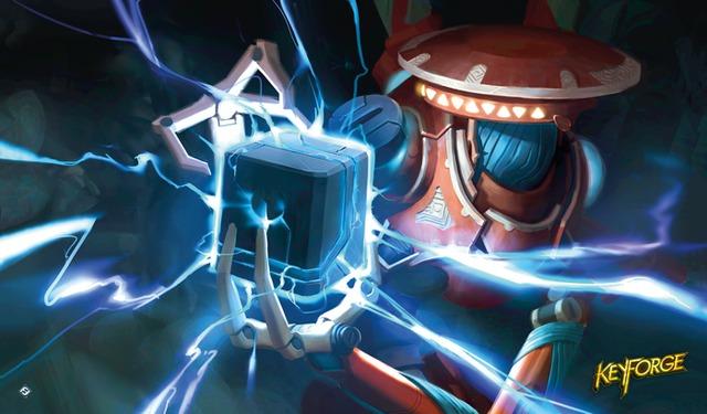 Keyforge - Positron Bolt Playmat
