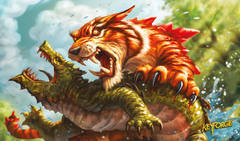 Keyforge - Mighty Tiger Playmat