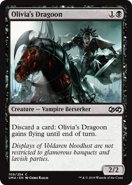 Olivias Dragoon - Foil