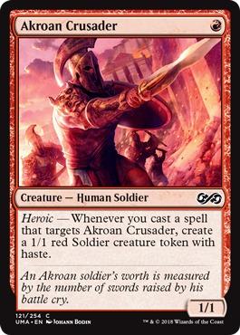 Akroan Crusader - Foil