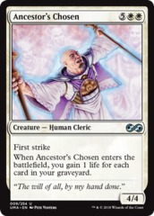 Ancestor's Chosen - Foil on Channel Fireball