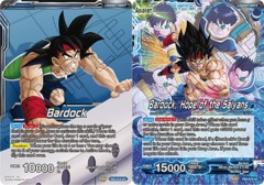 Bardock // Bardock, Hope of the Saiyans - TB3-018 - UC - Foil