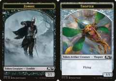 Zombie Token // Thopter Token - Game Night