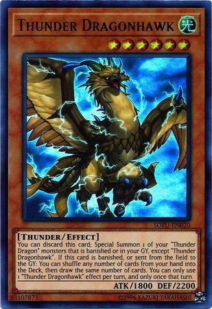 Thunder Dragonhawk - SOFU-EN020 - Ultra Rare - Unlimited Edition