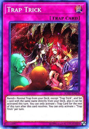 Trap Trick - SOFU-EN078 - Secret Rare - Unlimited Edition