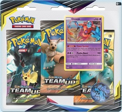 Sun & Moon - Team Up 3 Pack Blister - Deoxys