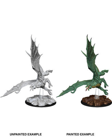 Nolzurs Marvelous Miniatures - Young Green Dragon