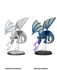 Nolzur's Marvelous Unpainted Miniatures - Young Blue Dragon