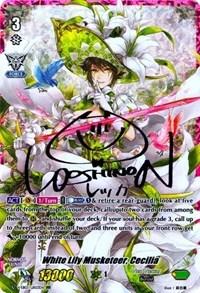 White Lily Musketeer, Cecilia (Rainbow Signature) - V-EB03/UR03EN - URR