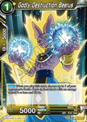 Godly Destruction Beerus - SD8-10 - ST