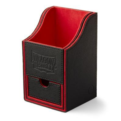 Dragon Shield Black/Red Nest 100+ Deck Box