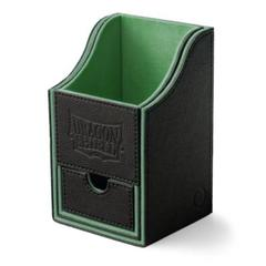 Dragon Shield: Black/Green Nest 100+ Deck Box