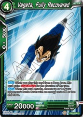 Vegeta, Fully Recovered - TB3-039 - C