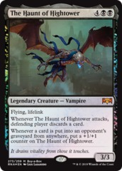 The Haunt of Hightower (273/259) - Buy-a-Box Promo FOIL Ravnica Allegiance