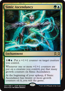 Simic Ascendancy - Foil Draft Weekend Promo