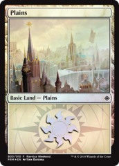 Plains (B03/010) - Foil Ravnica Weekend Promo