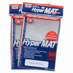 KMC Hyper Matte Clear Sleeves (100ct)