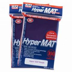 KMC Hyper Matte Sleeves - Purple (100ct)