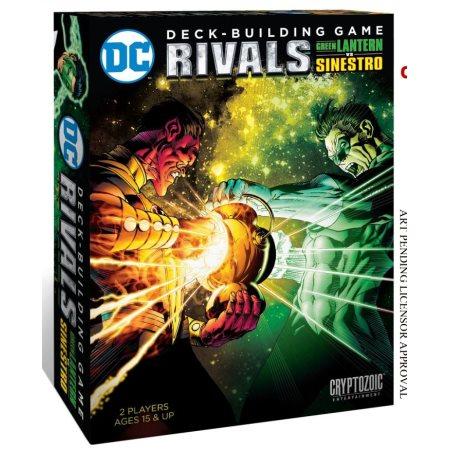 DC Comics - Deck Building Game: Rivals Green Lantern Vs Sinestro