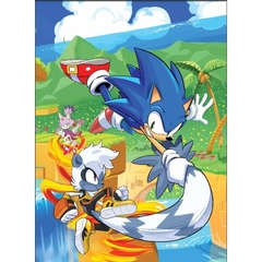 Sonic The Hedgehog: Too Slow! Premium Puzzle