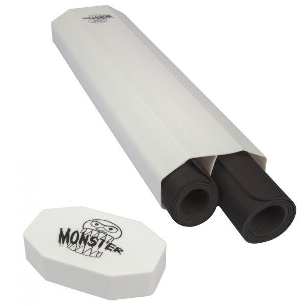 Monster Dual Playmat Tube - White