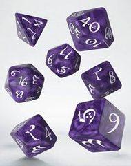 Classic RPG Dice Set lavender & white (7)