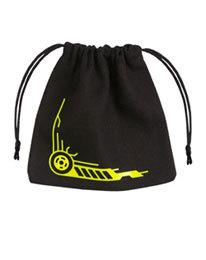Galactic Dice Bag black & yellow