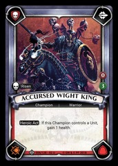 Accursed Wight King (Claimed) - Foil