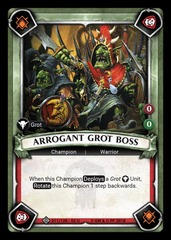 Arrogant Grot Boss (Unclaimed)