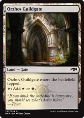 Orzhov Guildgate (253) - Foil