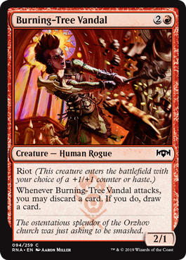 Burning-Tree Vandal - Foil