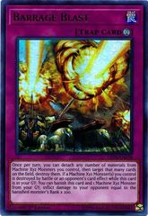 Barrage Blast - LED4-EN038 - Ultra Rare - 1st Edition on Channel Fireball